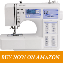 Brother HC1850 – Best Budget Sewing Machine For Quilting