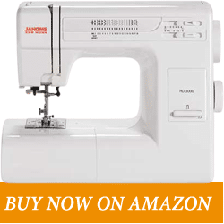 Janome HD3000 – Best Sewing Machine Under 500USD