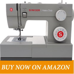 SINGER | Heavy Duty 4452 – Best Heavy Duty Mechanical Sewing Machine - Heavy Duty 4452 - Best for Regular Stitching