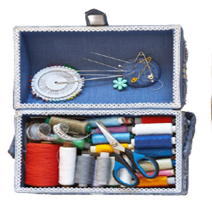 where to use different sewing threads