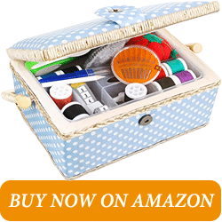 SewKit Large Sewing Basket With Accesories