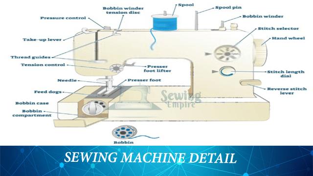 sewing machine detail