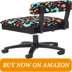 Arrow Adjustable Height Hydraulic Sewing Chair